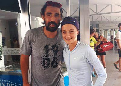 Marcos Baghdatis und Sophie