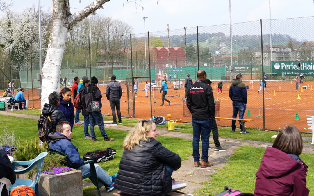 Enormer Andrang beim Kids Tennis Day